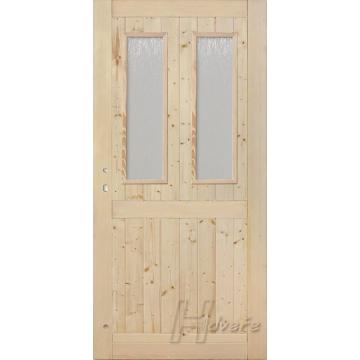 Palubkové dveře 2xsklo s příčkou