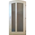 Půlkulaté dveře S2 s rámem