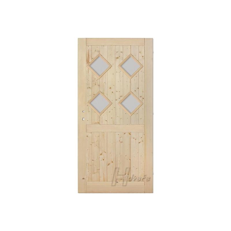 Palubkové dveře koso quatro s příčkou