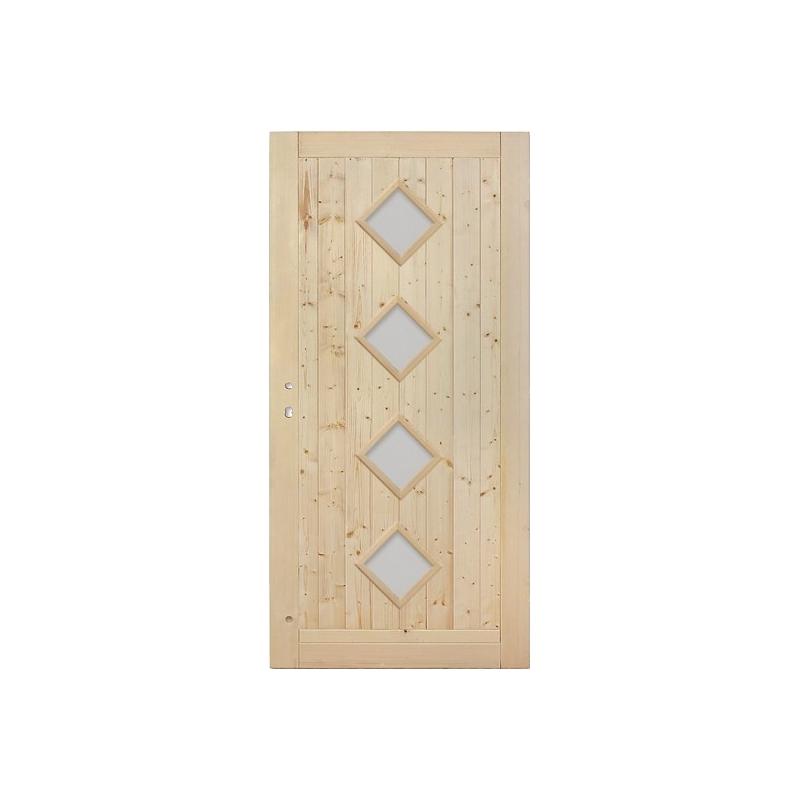Palubkové dveře 4x koso