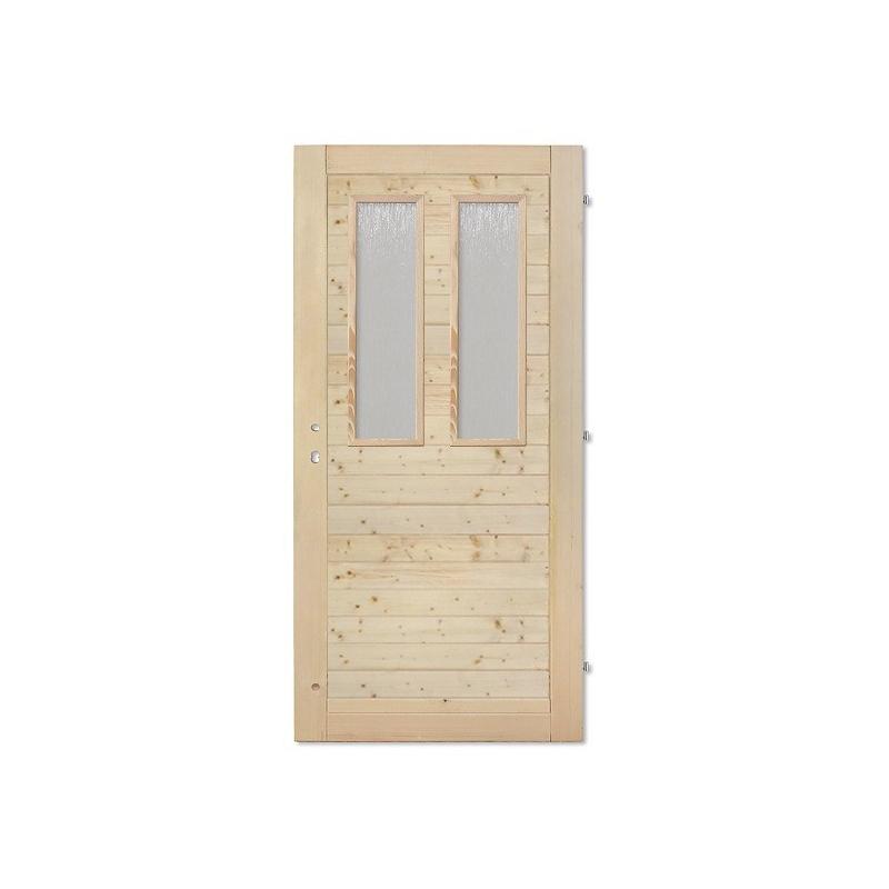 Palubkové dveře vodorovné 2xsklo
