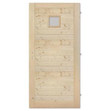 Palubkové dveře vodorovne 20x20
