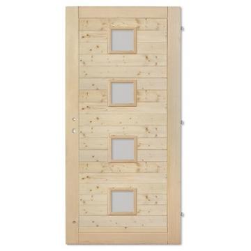 Palubkové dveře vodorovne quatro střed