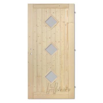 Palubkové dveře 3x koso