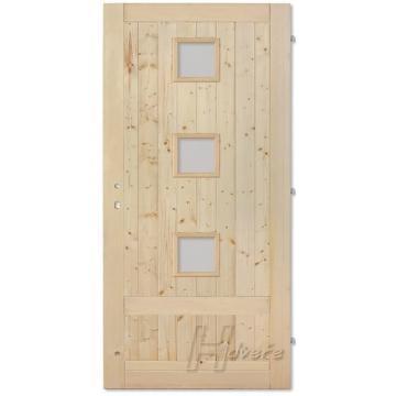 Palubkové dveře sklo