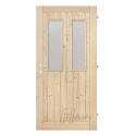 Palubkové dveře 2xsklo